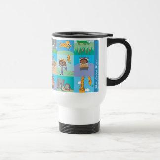 Jungle Animal Travel Mug Patchwork - Look Alikes