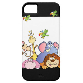 Jungle Animals iPhone 5 Cases