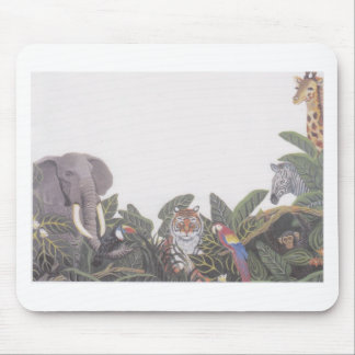Jungle Animals jpeg Mousepads