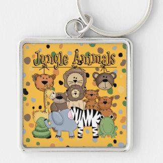 Jungle Animals Key Chain
