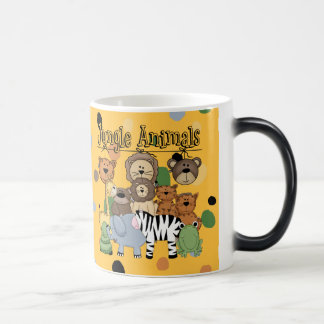 Jungle Animals Morphing Mug