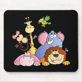 Jungle Animals Mouse Pad