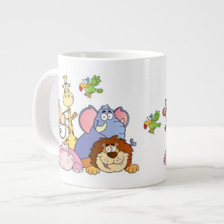 Jungle Animals Jumbo Mug