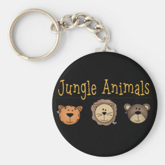 Jungle Animals T-shirts and Gifts Keychains