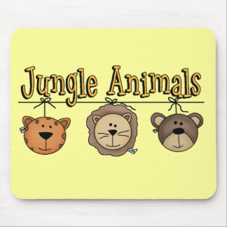 Jungle Animals Tshirts and Gifts Mouse Pad