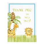 Jungle Babies, Boy Thank You Notes