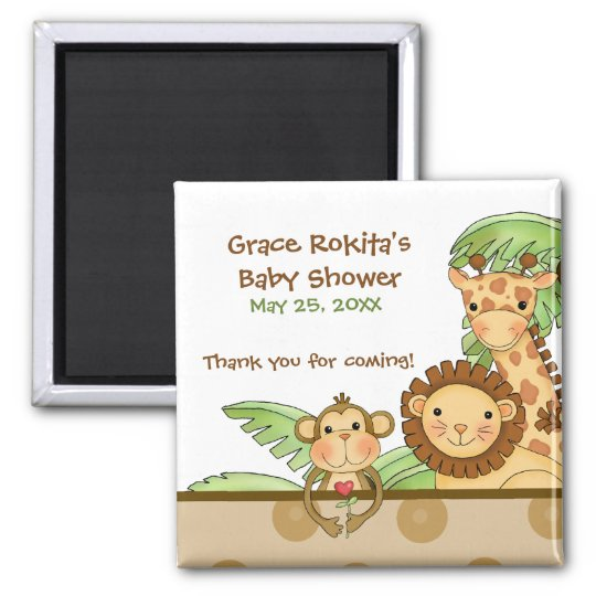 Jungle Babies - Party Favour Magnet