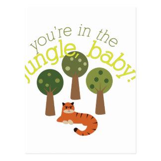 Jungle Baby Postcard