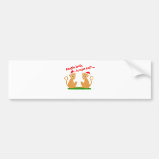 Jungle Bells Bumper Sticker
