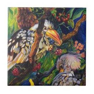 Jungle Birds Tile