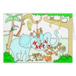 Jungle Birthday Card