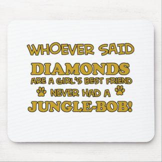 Jungle Bob Cat designs Mousepad
