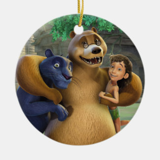 Jungle Book Group Shot 1 Christmas Ornament