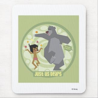 "Jungle Book Mowgli & Baloo ""Just Us Bears"" Disney Mouse Mat"