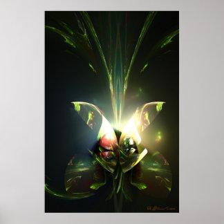 Jungle Bouquet Poster