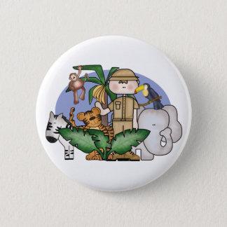 Jungle Boy 6 Cm Round Badge