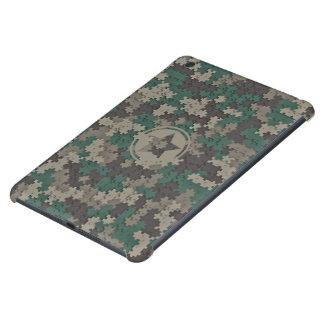 Jungle Camo Jigsaw Pattern iPad Mini 2/3 Case