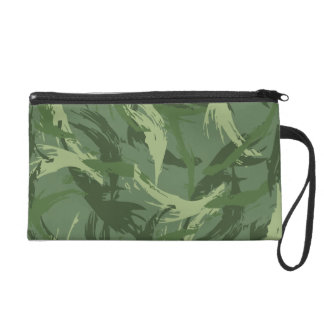 Jungle Camouflage Wristlet Purse