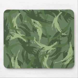 Jungle Camouflage Mouse Pad