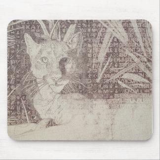 Jungle cat mousepad