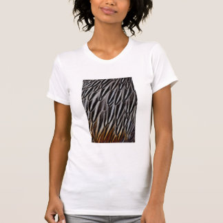 Jungle cock feathers close-up T-Shirt