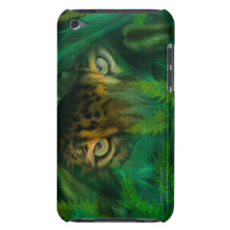 Jungle Eyes-Jaguar Art Case for iPod Barely There iPod Covers