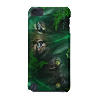 Jungle Eyes-Panther and Ocelot Art Case for iPod iPod Touch 5G Cover