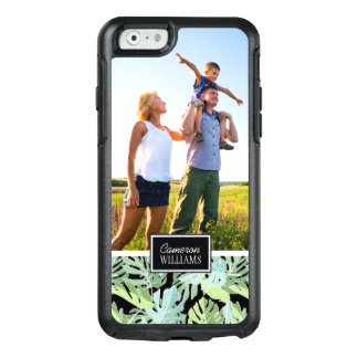 Jungle Floral Pattern   Add Your Photo & Name OtterBox iPhone 6/6s Case
