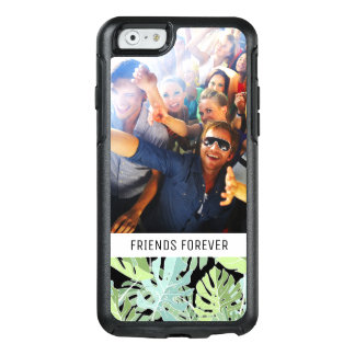 Jungle Floral Pattern | Add Your Photo & Text OtterBox iPhone 6/6s Case