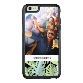 Jungle Floral Pattern | Add Your Photo & Text OtterBox iPhone 6/6s Plus Case
