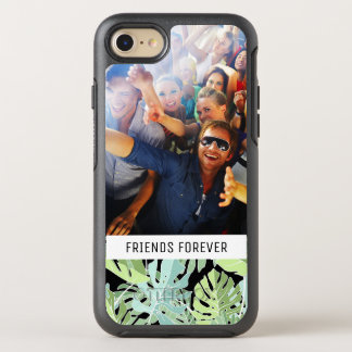 Jungle Floral Pattern | Add Your Photo & Text OtterBox Symmetry iPhone 8/7 Case
