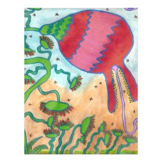 Jungle flower 21.5 cm x 28 cm flyer