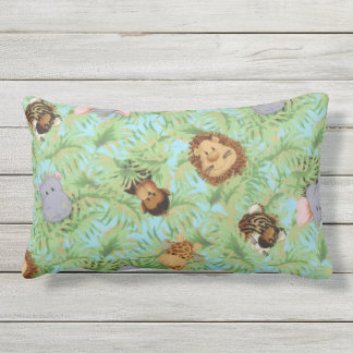 Jungle Friends Lumbar Cushion