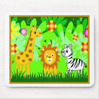 Jungle Friends Mouse Pads