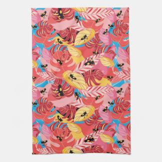 Jungle Frogs Tea Towel