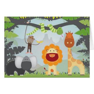 Jungle Fun Card