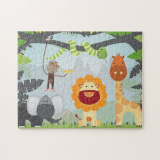 Jungle Fun Jigsaw Puzzle