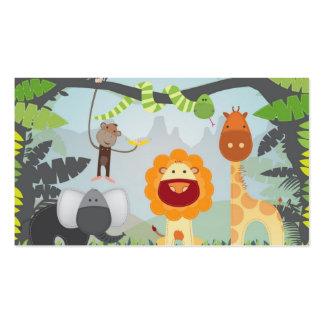 Jungle Fun Pack Of Standard Business Cards