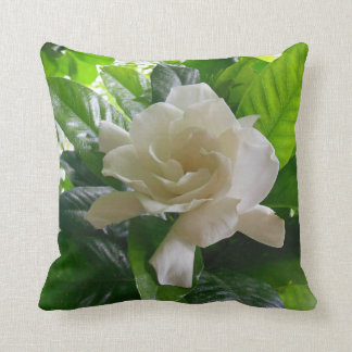 Jungle Gardenia Cushion