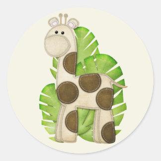 Jungle Giraffe Stickers