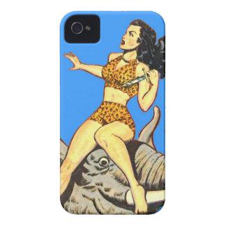 Jungle Girl - Vintage Comics Congo Wild Woman! iPhone 4 Cover