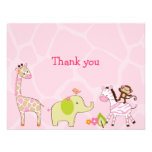 Jungle Jill Jungle Animal Thank You Note Cards Announcements