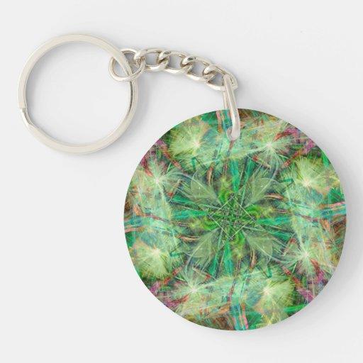 Jungle Acrylic Key Chain