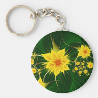Jungle (Keychain) Basic Round Button Key Ring
