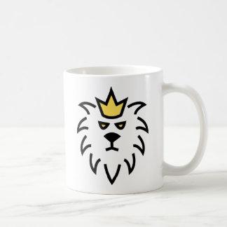 jungle king basic white mug