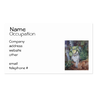 Jungle Kitty Business Card Templates