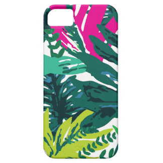 Jungle 'Leaves' Print iPhone 5 Case