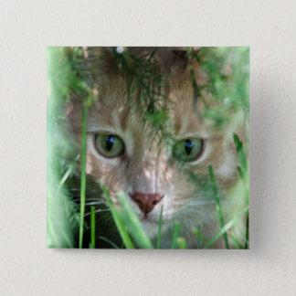 Jungle Legend 15 Cm Square Badge