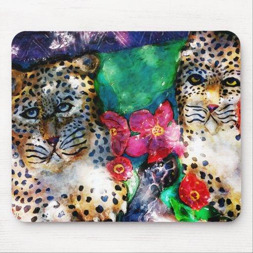 Jungle Leopards Mousepad