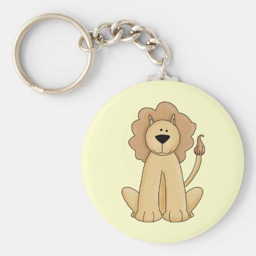 Jungle Lion Keychains
